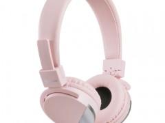 Στερεοφωνικά Ακουστικά με Μικρόφωνο 3.5mm Meliconi 497457 Speak Metal Rose