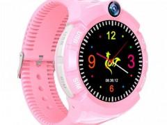 GPS Παιδικό Ρολόι Χειρός SD-S02-PK, SOS-Βηματομετρητής, Ροζ (SD-S02-PK)