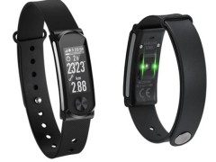 Mobile Action Heart Fitness Band Q-68HR με Smart Notifications Black