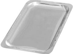 Δίσκος Ψυγειοβιτρίνας Inox 20x29cm DN1-10991