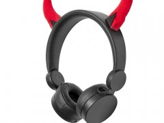 On-Ear Ενσύρματα Ακουστικά Animaticks Danny Devil Nedis HPWD4000BK