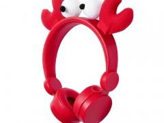 On-Ear Ενσύρματα Ακουστικά Animaticks Chrissy Crab Nedis HPWD4000RD