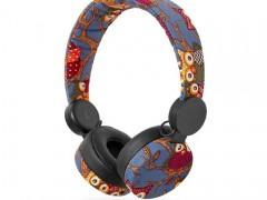 On-Ear Ενσύρματα Ακουστικά N-Imal Owl Blue Nedis HPWD4101BK