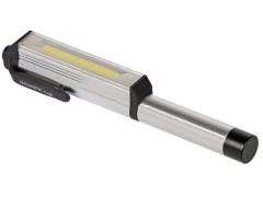 Φακός Led URZ0868 με Μαγνητική Βάση & Κλιπ
