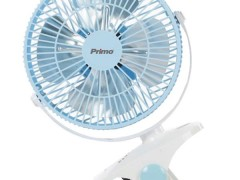 Ανεμιστήρας Mini με Κλιπ Primo PRMF-80428 20cm Μπλε/Λευκό