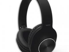Bluetooth Over-Ear Ακουστικά με Μικρόφωνο Nod Playlist Black Μαύρα