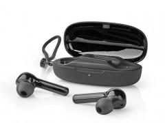 Bluetooth Ακουστικά Handsfree Tws με Θήκη Φόρτισης Nedis HPBT5055BK