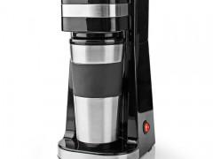 Καφετιέρα Φίλτρου Μονή με Κούπα-Θερμός 0.4lt Nedis KACM300FBK