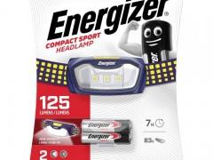 Φακός Κεφαλής Energizer Sport Headlight 125Lm Energizer Sport Headlight
