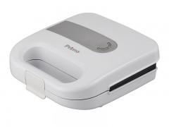 Τοστιέρα Primo PRSM-40326 2 Θέσεων Fix Πλάκες Λευκή/Inox