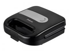 Τοστιέρα Primo PRSM-40327 2 Θέσεων Fix Πλάκες Μαύρη/Inox