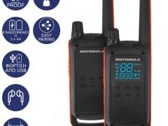 Motorola Talkabout T82 Ανθεκτικό στο νερό Walkie Talkie με Φακό 10km
