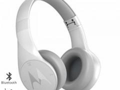 Motorola Pulse Escape Λευκά Ασύρματα Bluetooth Over Ear Ακουστικά Hands Free