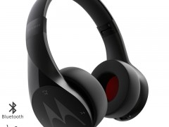 Motorola Pulse Escape Μαύρο Ασύρματα Bluetooth Over Ear Ακουστικά Hands Free