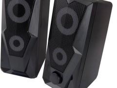 Esperanza Ηχεία Stereo Baila 2.0 Egs103, 2x3w, 3.5mm, Μαύρα