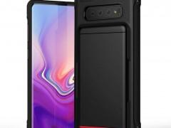 VRS Θήκη Damda Shield Series Samsung Galaxy S10 Plus - Matte Black (VRS-GS10P-DGS-MBK )