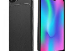 Θήκη TPU Leather Huawei Honor 10 - Black - OEM (13514)