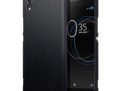 Terrapin Σκληρή Θήκη Καουτσούκ Sony Xperia XA1 - Black (151-005-123)