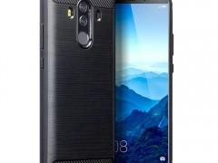 Terrapin Θήκη Σιλικόνης Carbon Fibre Design Huawei Mate 10 Pro - Black (118-083-145)