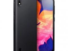 Terrapin Θήκη Σιλικόνης Samsung Galaxy A10 - Solid Black Matte Finish (118-002-748 )