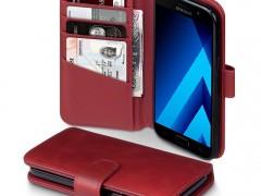 Terrapin Δερμάτινη Θήκη - Πορτοφόλι Samsung Galaxy A5 2017 - Red (117-002-969)