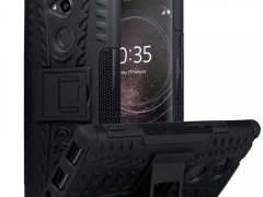 Terrapin Ανθεκτική Θήκη με Stand Sony Xperia XA2 Ultra -Black (131-005-060)