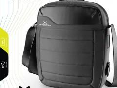 Ghostek Αδιάβροχη Τσάντα Tablet με Ενσωματωμένη Μπαταρία 16000mAh - Black (GHOBG010)