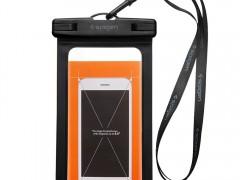 Spigen VELO Universal Waterproof Phone Case - Αδιάβροχη Θήκη για Κινητά έως 6'' - Black (000EM21018)