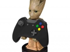 Exquisite Gaming Cable Guys Phone & Controller Holder - Groot & Καλώδιο 2m Micro-USB σε USB (S10194971)