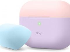 Elago AirPods Pro DUO Case - Θήκη Με Διπλό Καπάκι AirPods Pro - Lavanda / Pink / Blue (EAPPDO-LV-LPKPBL)