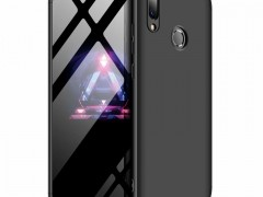 GKK Θήκη Hybrid Full Body 360° Huawei P Smart 2019 - Black (47855)
