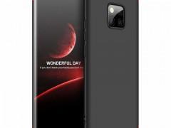 GKK Θήκη Hybrid Full Body 360° Huawei Mate 20 Pro - Black Red (44538)