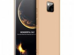 GKK Θήκη Hybrid Full Body 360° Huawei Mate 20 Pro - Gold (44537)
