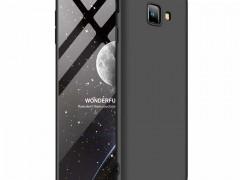 GKK Θήκη Hybrid Full Body 360° Samsung Galaxy J4 Plus 2018 - Black (44493)