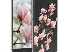 KW Θήκη Σιλικόνης Huawei P9 Lite - Light Pink / White / Transparent (39088.10)