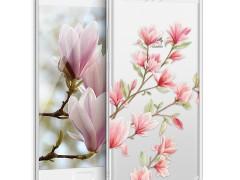 KW Θήκη Σιλικόνης Case for Huawei P10 - Light Pink / White / Transparent (40970.31)