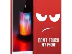 KW Σκληρή Θήκη Huawei P10 - White / Metallic Dark Red (42037.04)