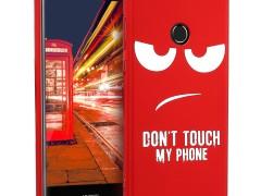 KW Σκληρή Θήκη Huawei P8 Lite (2017) - White / Metallic Dark Red (44114.03)