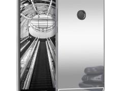 KW Θήκη Σιλικόνης (TPU) με Καθρέφτη Huawei Enjoy 7S / P Smart - Silver (44435.35)
