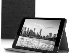 KW Θήκη Πορτοφόλι Apple iPad 9.7 (2017 / 2018) - Dark Grey (44960.19)