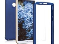 KW Θήκη Full Body για Huawei P Smart 2018 - Metallic Blue (45559.64)