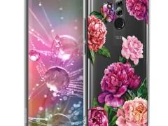 KW Θήκη Σιλικόνης Huawei Mate 20 Lite - Violet / Light Pink / Transparent (46200.34)