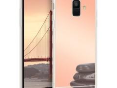 KW Θήκη Σιλικόνης (TPU) με Καθρέφτη Samsung Galaxy A6 (2018) - Rose Gold Reflective (47211.41)