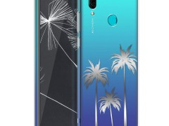 KW Θήκη Σιλικόνης Huawei P Smart 2019 - Silver / Transparent (47388.22)