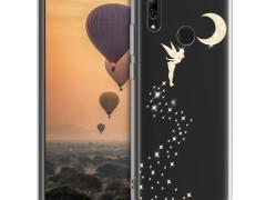 KW Θήκη Σιλικόνης Huawei P Smart 2019 - Gold / Transparent (47389.20)
