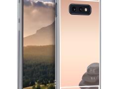 KW Θήκη Σιλικόνης (TPU) με Καθρέφτη Samsung Galaxy S10e - Rose Gold Reflective (47942.41)