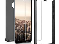 KW Full Body Θήκη Samsung Galaxy A20e & Tempered Glass - Metallic Black (48745.68)
