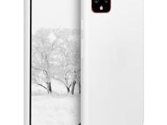 KW Θήκη Σιλικόνης Google Pixel 4 - White (50326.02)