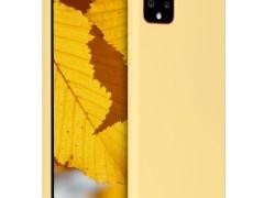 KW Θήκη Σιλικόνης Google Pixel 4 XL - Yellow Matte (50327.49)