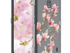KW Θήκη Σιλικόνης Nokia 2.2 - Light Pink / White / Transparent (50358.02)